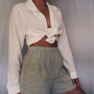 Vintage cloth Bermuda shorts